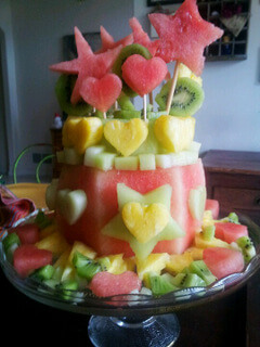 gateau fruit