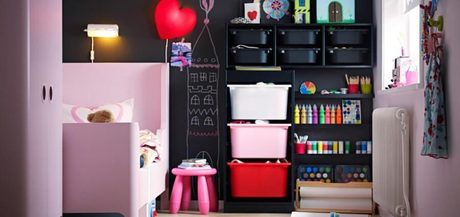 rangements astucieux pour chambre d enfant. Black Bedroom Furniture Sets. Home Design Ideas